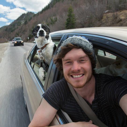 selfies con animales 16