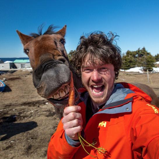 selfies con animales 17