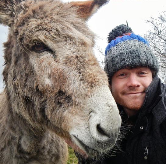 selfies con animales 19