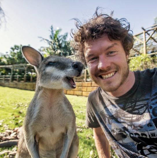 selfies con animales 2