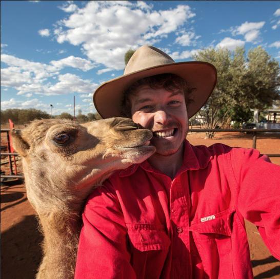 selfies con animales 22