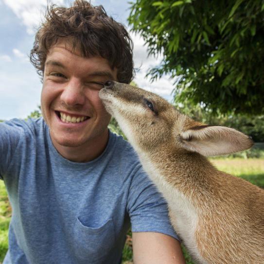 selfies con animales 24