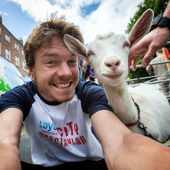 selfies con animales 25