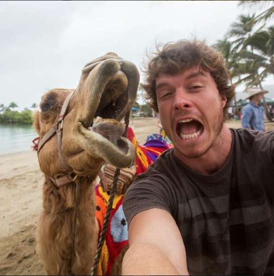 selfies con animales 26