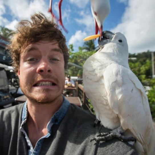 selfies con animales 30