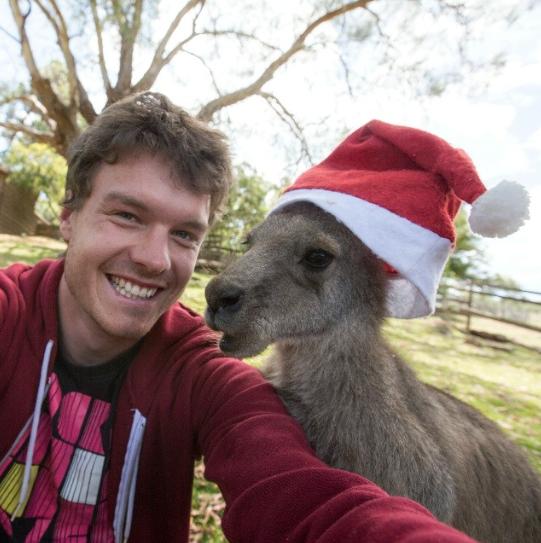 selfies con animales 32