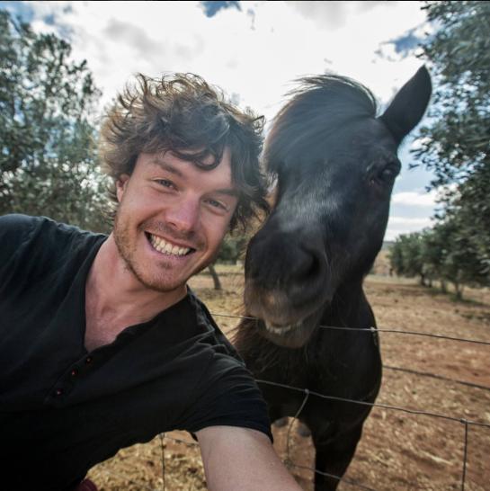 selfies con animales 4