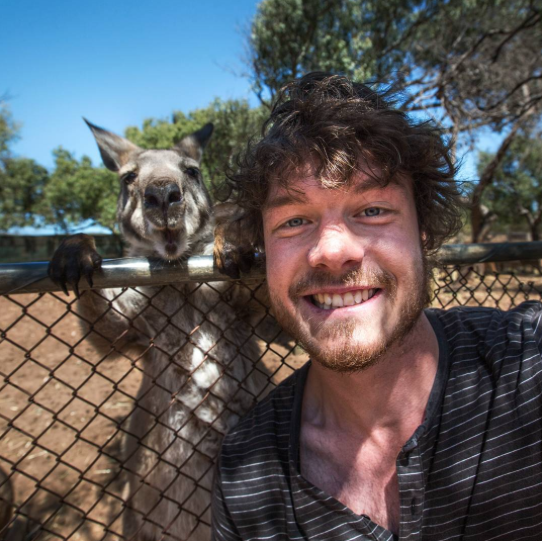 selfies con animales 5