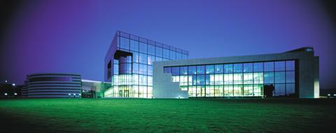 Las oficinas centrales de Inditex se trasladas a un nuevo edificio en Arteixo (A Coruña, España).