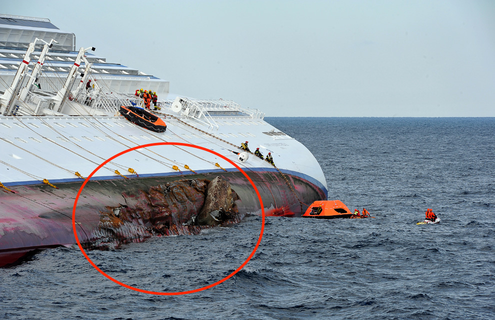 Antes naufragio costa concordia 25