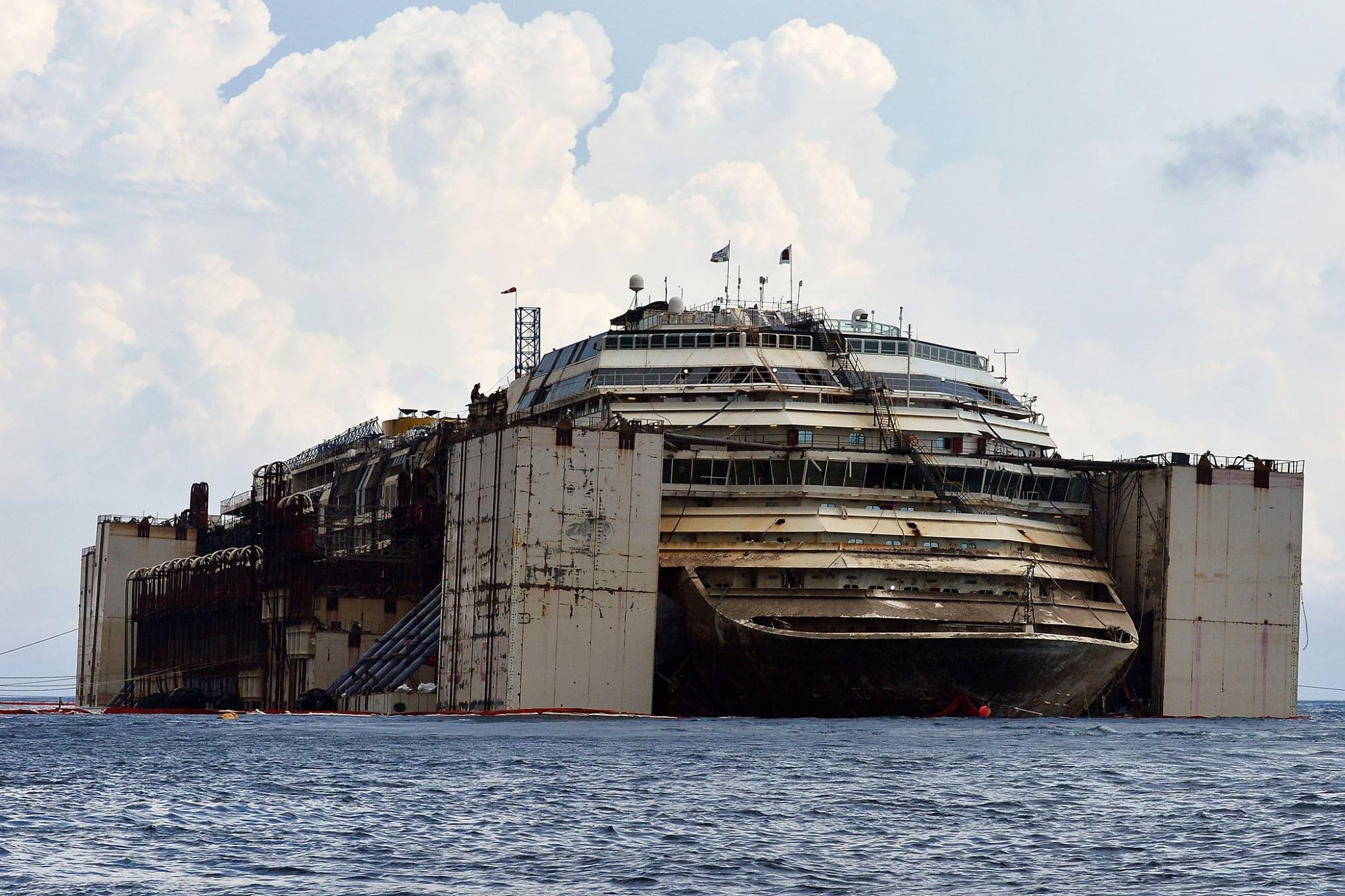 Costa concordia despues 1