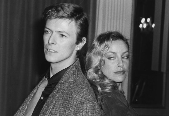 15th February 1979: British rock singer David Bowie with American-born actress Sydne Rome. (Photo by Evening Standard/Getty Images)