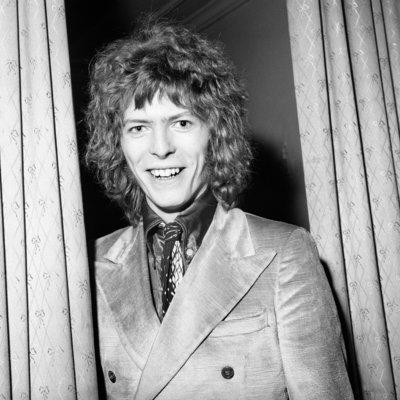 British singer David Bowie.