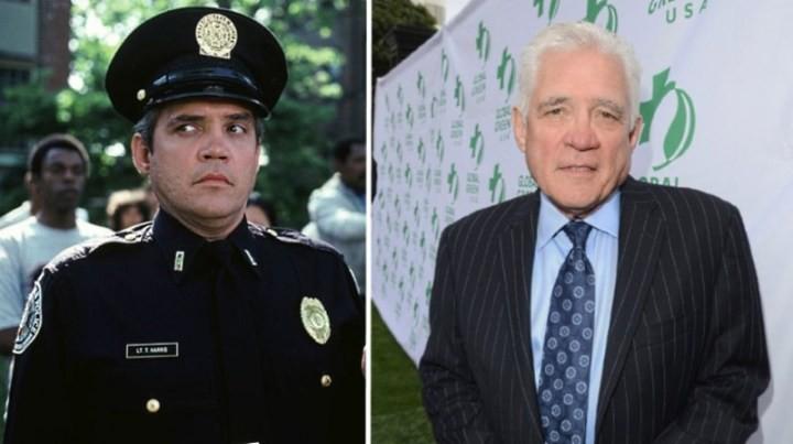 asi son los protagonistas de loca acdemis de policia 30 años despues 11