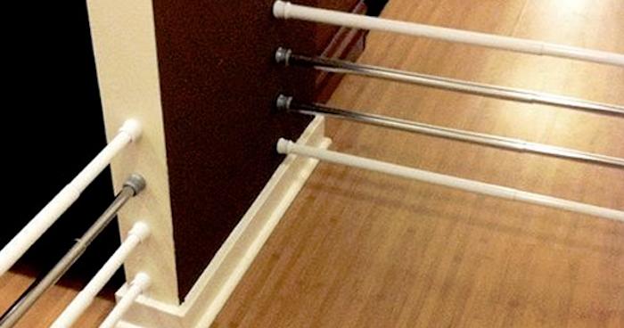 Descubre lo pr cticas que pueden ser las barras de las - Barras de cortinas extensibles ...