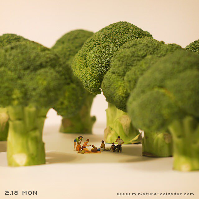 bosque de brocoli de tatsuya tanaka