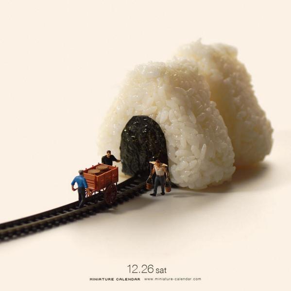 calendario de figuras en miniatura de tatsuya tanaka 1