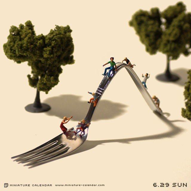 calendario de figuras en miniatura de tatsuya tanaka 3
