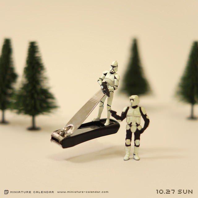 calendario de figuras en miniatura de tatsuya tanaka 4