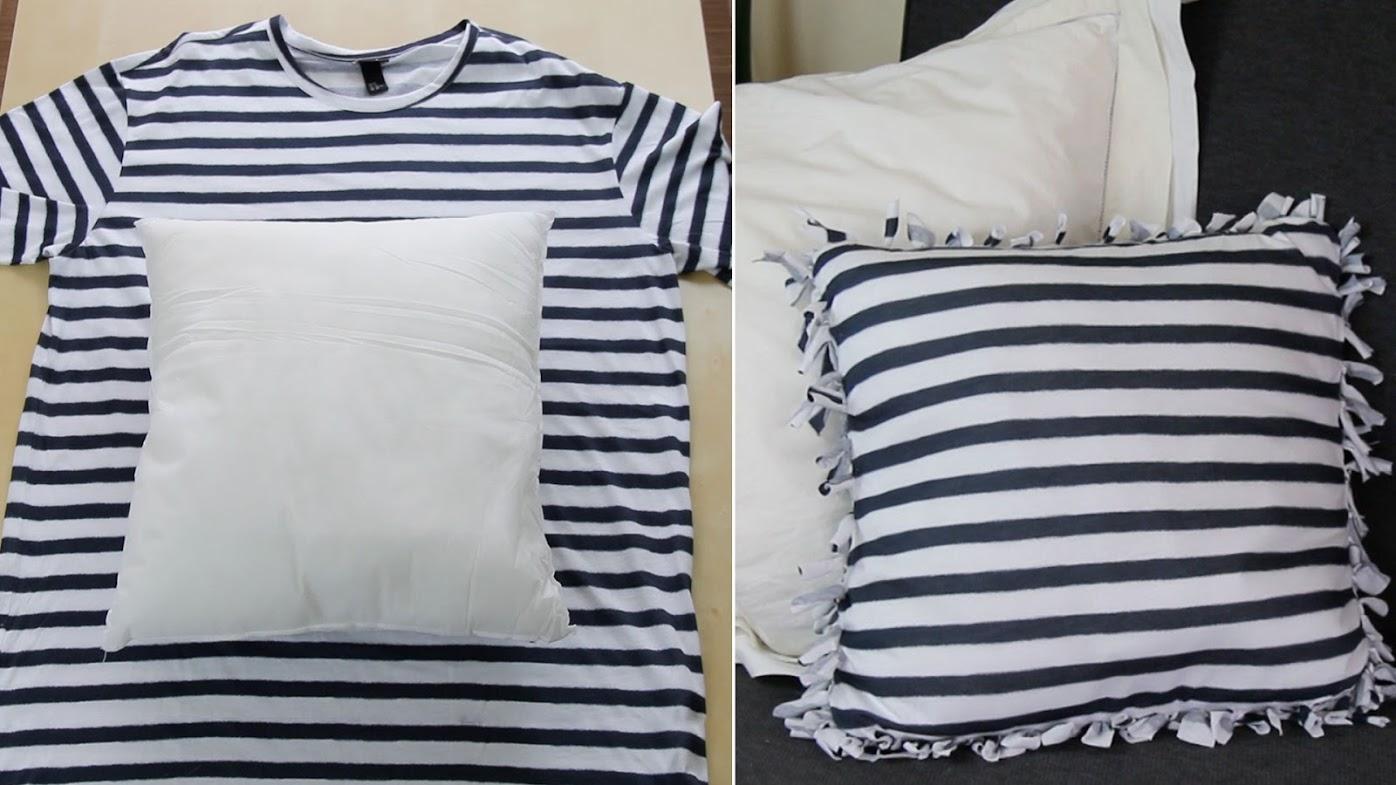 3 formas excelentes de reciclar tus viejas camisetas sin coser