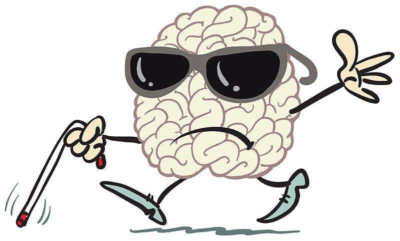 ceguera de repeticion en el cerebro