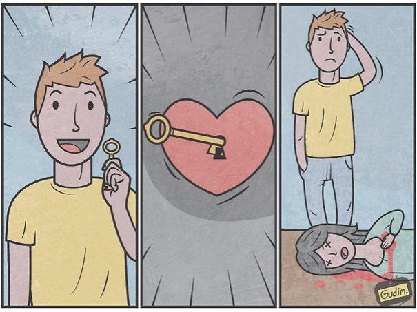 divertidas ilustraciones sarcasticas 13
