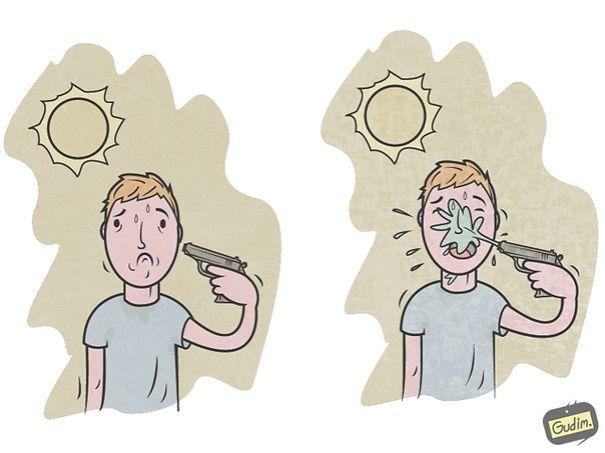 divertidas ilustraciones sarcasticas 14