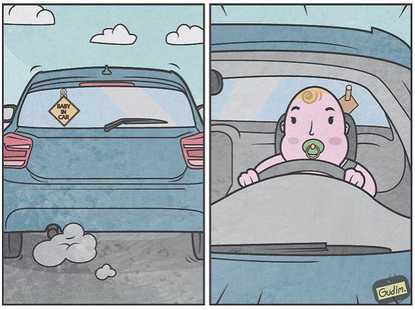 divertidas ilustraciones sarcasticas 15