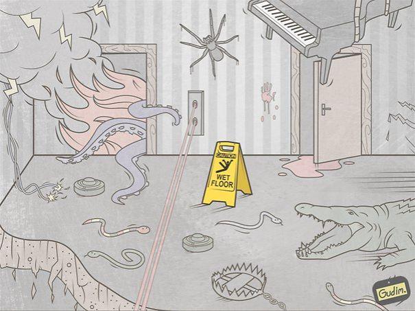 divertidas ilustraciones sarcasticas 23