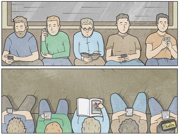 divertidas ilustraciones sarcasticas 3