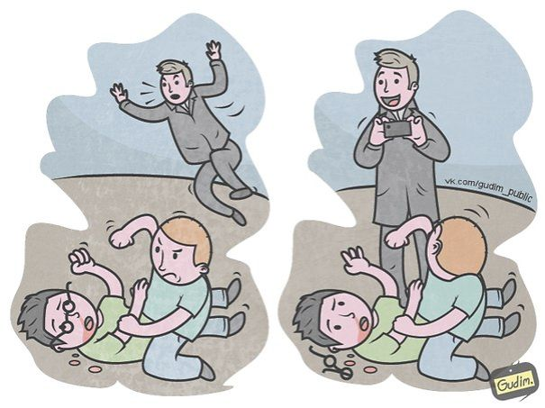 divertidas ilustraciones sarcasticas 8