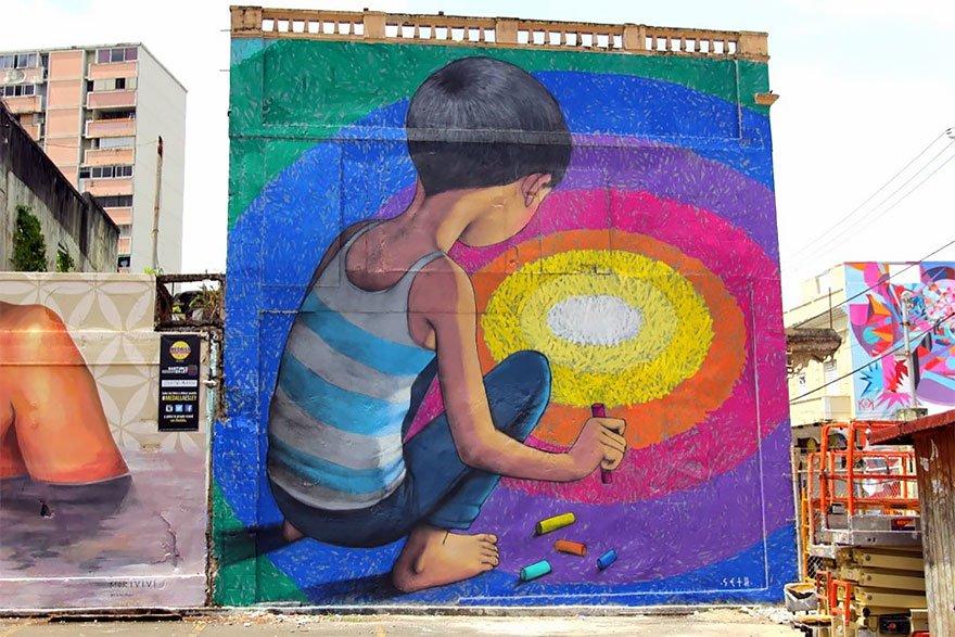 grafitis del artista callejero julien malland seth globepainter 15