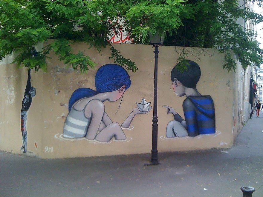 grafitis del artista callejero julien malland seth globepainter 16