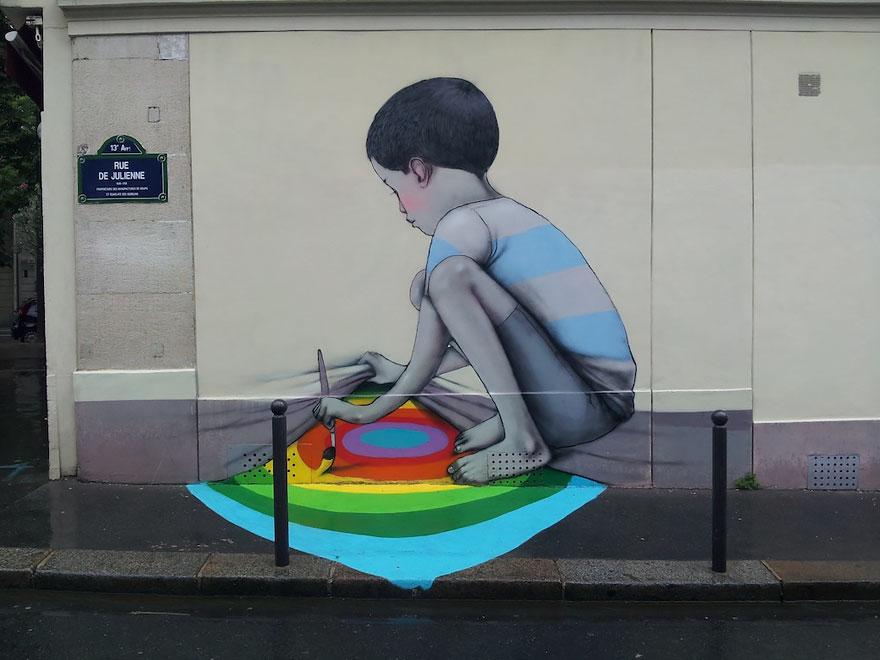 grafitis del artista callejero julien malland seth globepainter 17
