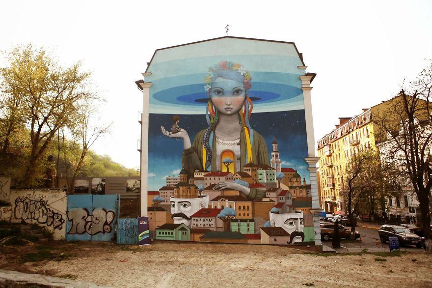grafitis del artista callejero julien malland seth globepainter 18