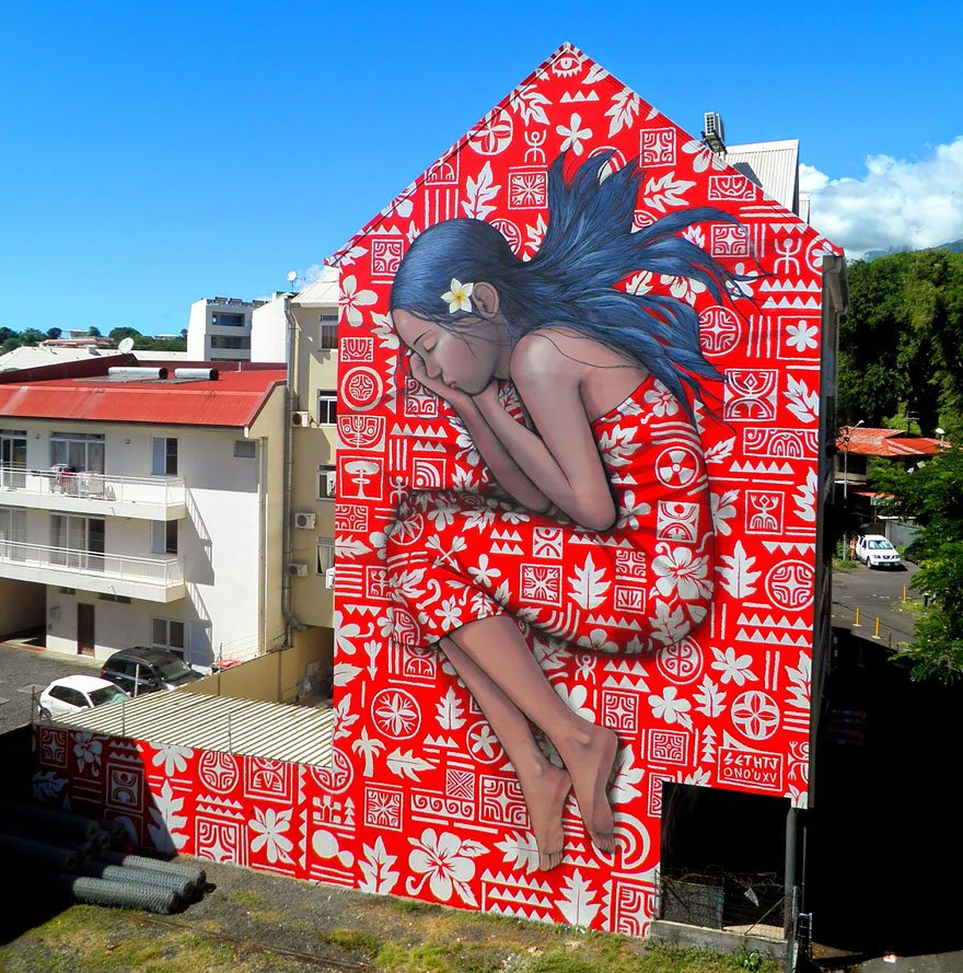 grafitis del artista callejero julien malland seth globepainter 2