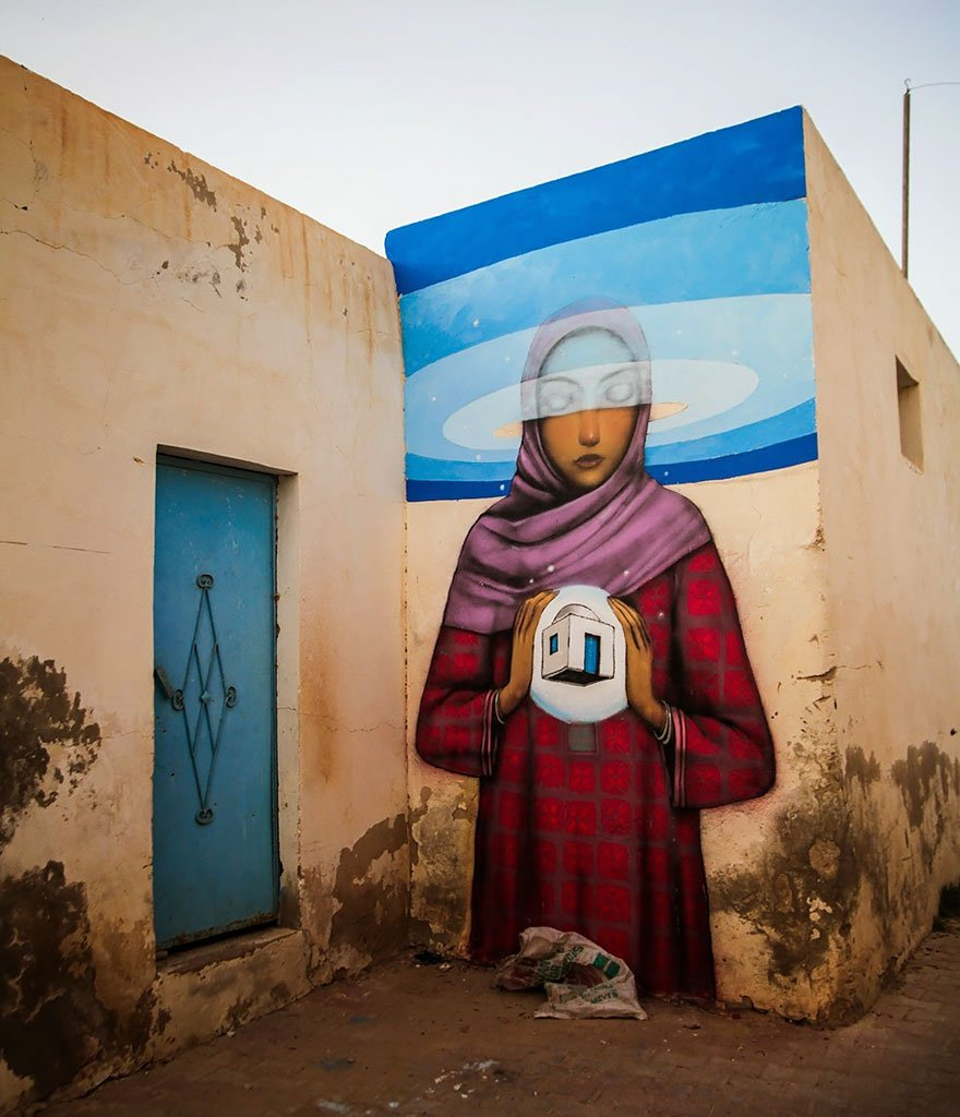 grafitis del artista callejero julien malland seth globepainter 27