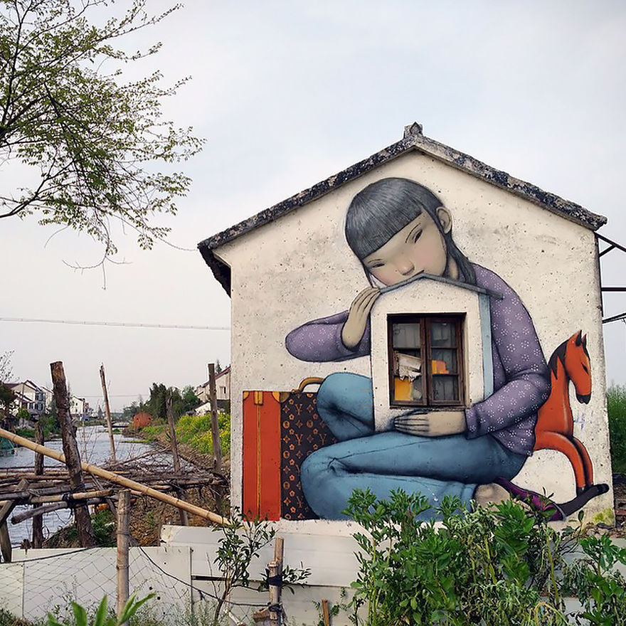 grafitis del artista callejero julien malland seth globepainter 5