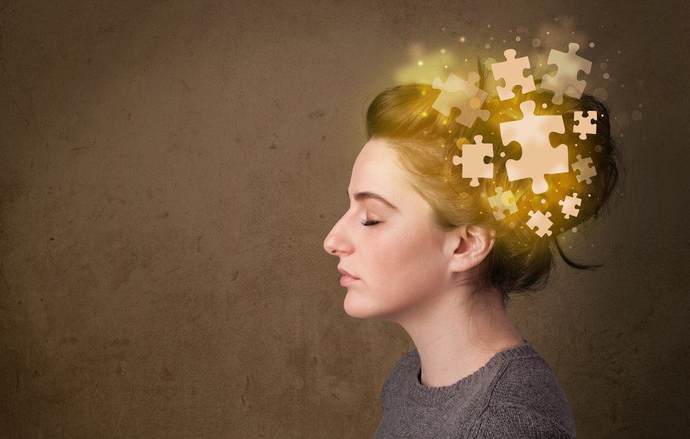 puzzle en el cerebro