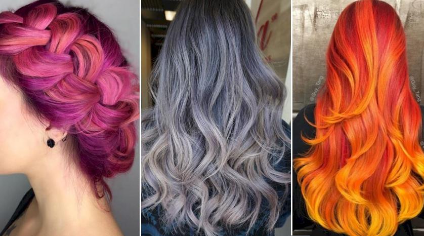 Baño Color Azul Pelo:Medium Length Hair Color