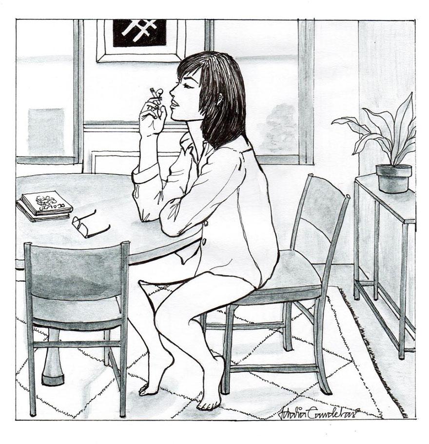 Ilustraciones que reflejan lo que es estar soltera por idalia candelas4