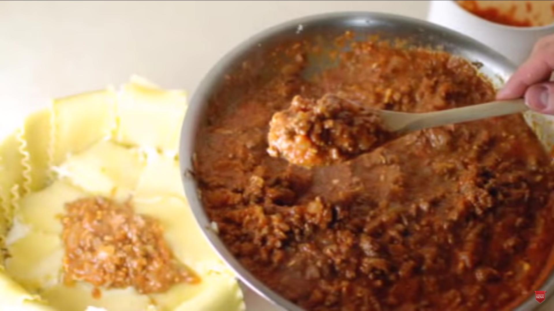 Lasagna en tazon 10