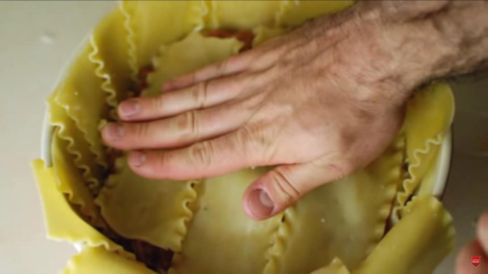 Lasagna en tazon 11