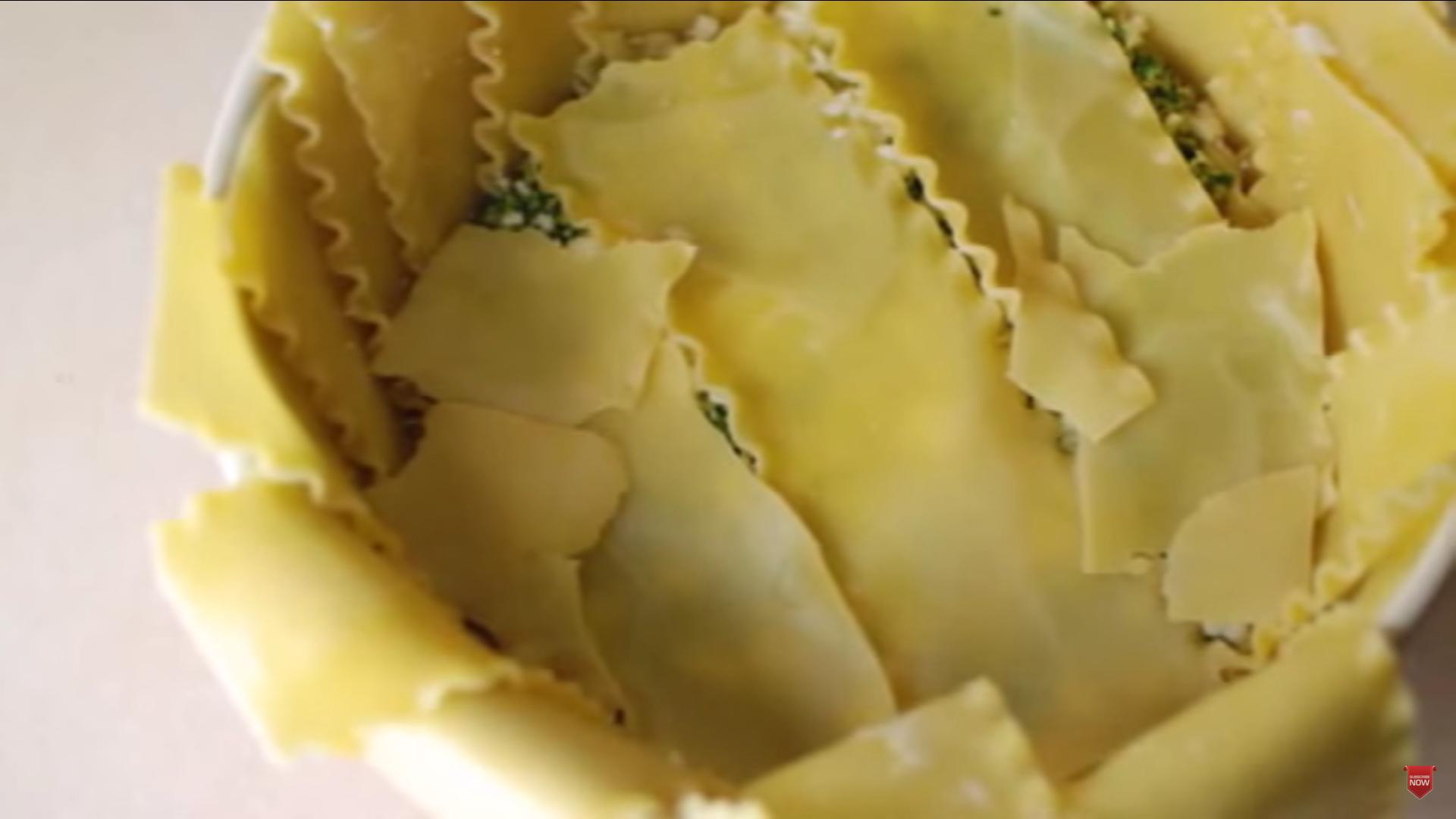 Lasagna en tazon 7