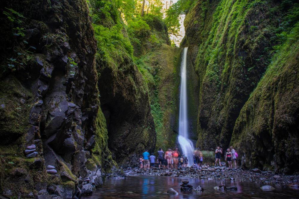 cascadas de oneonta gorge