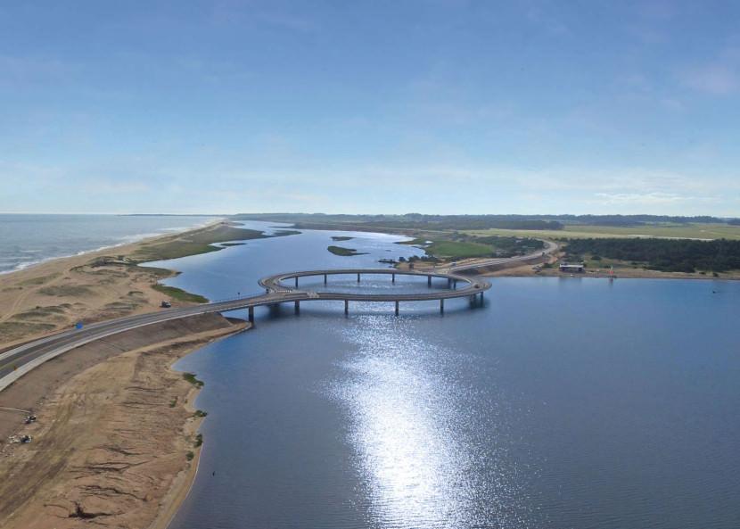 este puente en uruguay tiene forma circular por un motivo 2