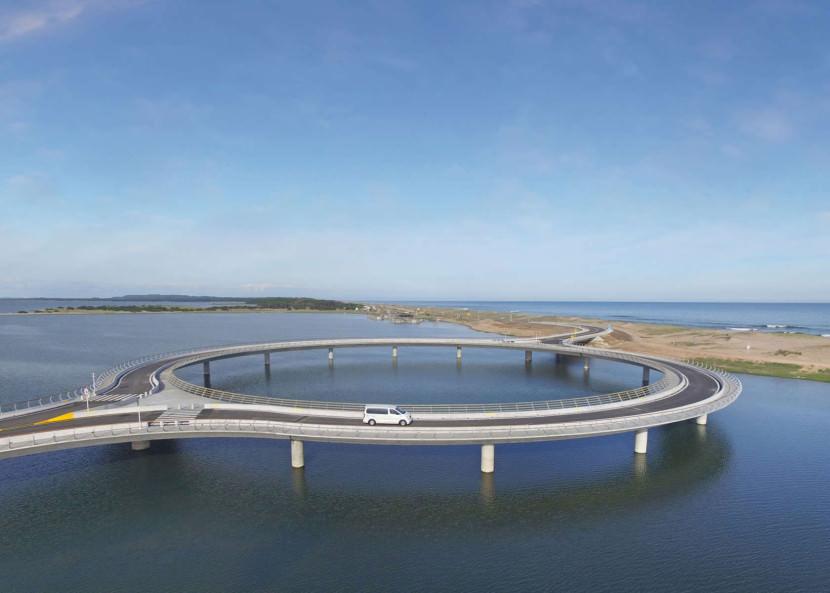 este puente en uruguay tiene forma circular por un motivo 3