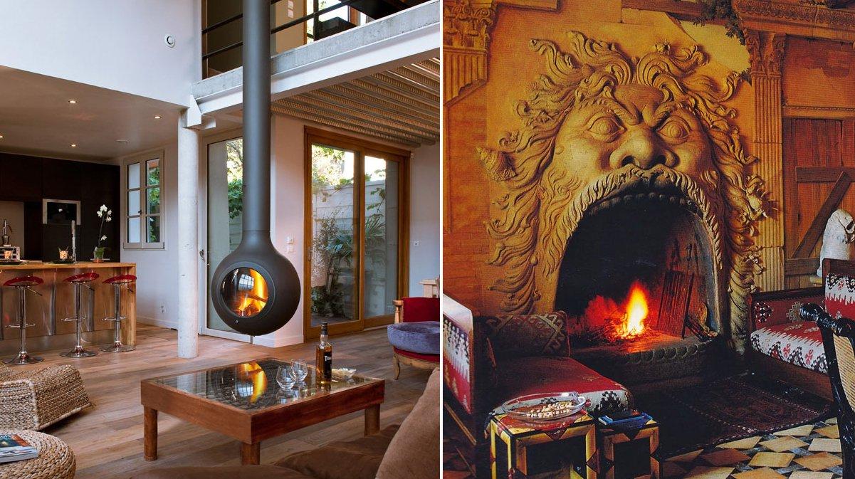 30 Chimeneas originales que dan calor a la vez que decoran La voz