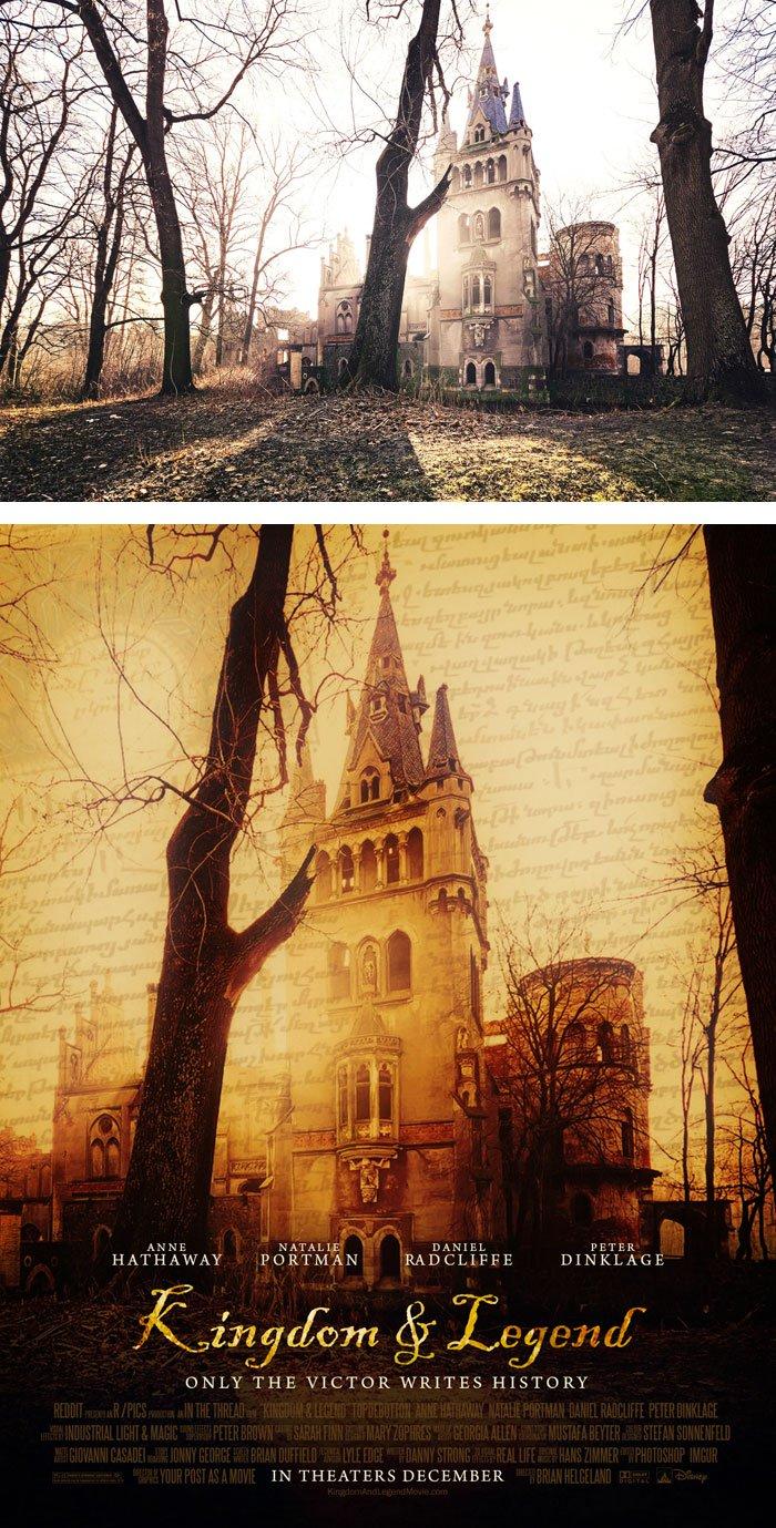 fotos transformadas en carteles de peliculas 14