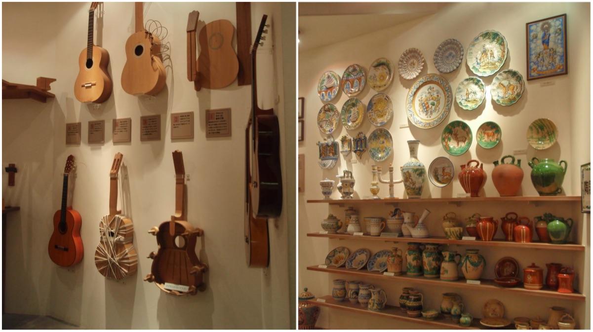 guitarras y botijos